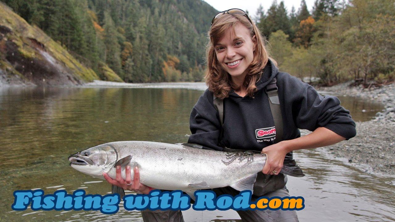 fishing with rod coho cafe