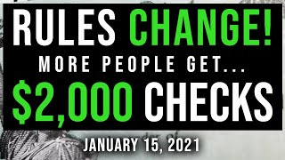 $2000 stimulus check update & ...