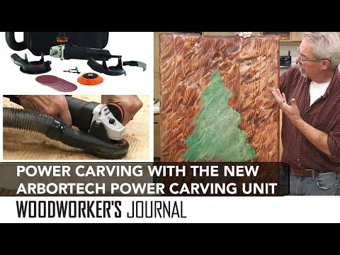 Power Carving with the ArborTech Power Carving Unit