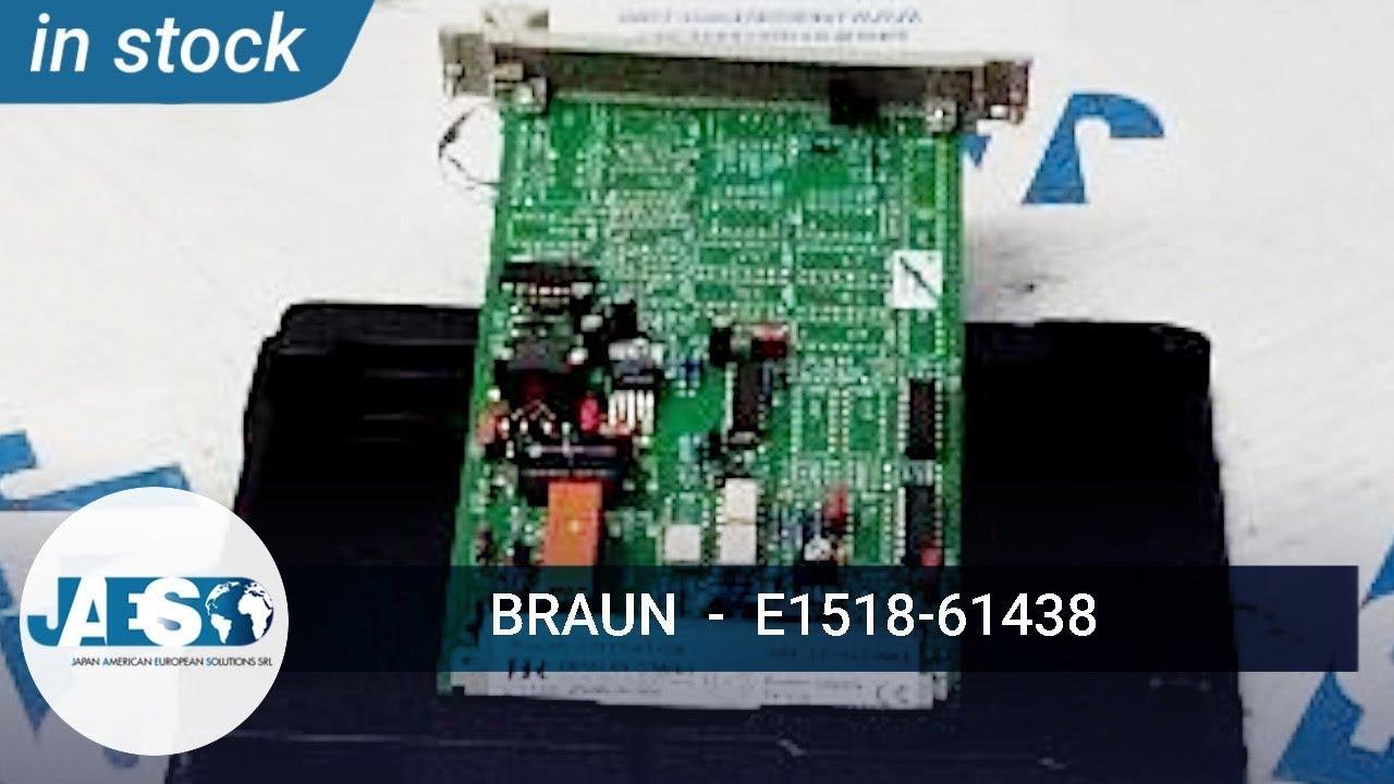 BRAUN E1518-61438 Power Supply card