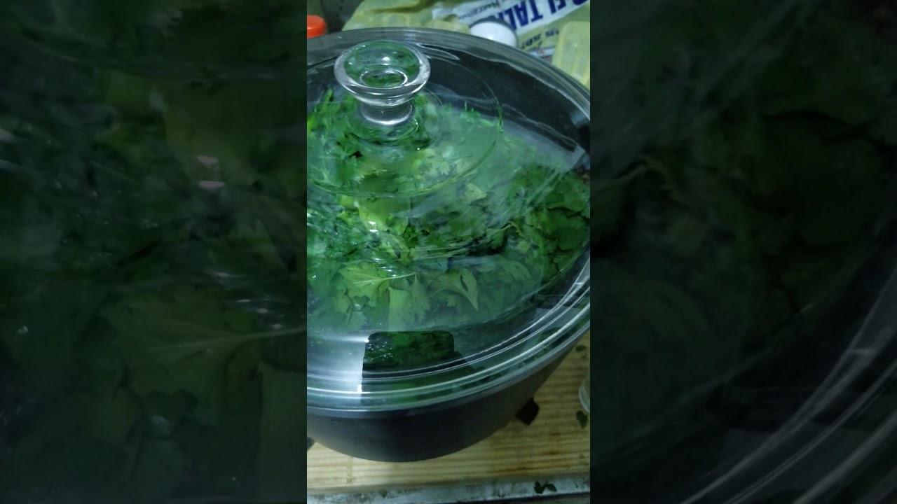 como se hace el cilantro para bajar de peso