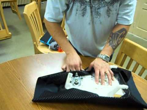 How to reupolster a motorcycle seat with inexpensive