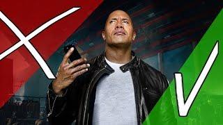 The Rock x Siri vs REALITY