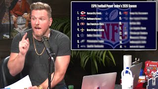 Pat McAfee Reacts To The 2020 NFL Projections