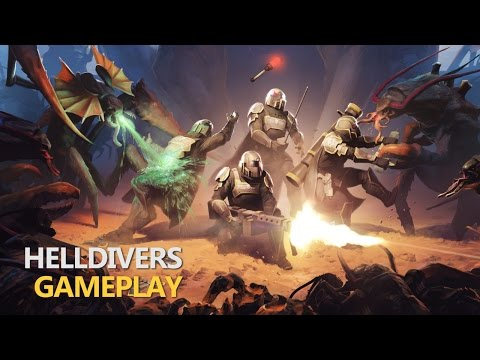 Helldivers Multiplayer Insanity!