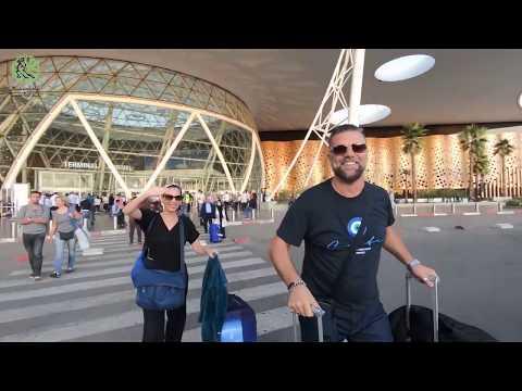 Marrakech Tango Festival - Maestros Arriving To Marrakech