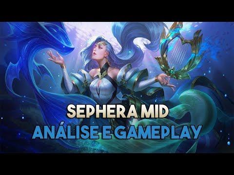 Sephera Mid! Análise e Gameplay - Arena of Valor