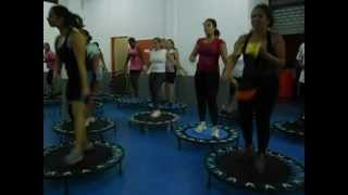 Academia Body Health - Aula de Jump III: On the floor (27/02/13)