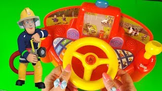 Fireman Sam Jupiter Fire Engine Driving Game Toys 2018