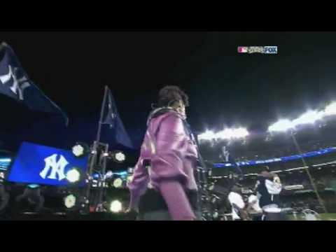 YouTube Jay Z ft Alicia Keys Performing Empire State of Mind at Yankee Stadium HD