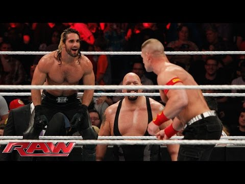 John Cena vs. Seth Rollins - Lumberjack Match: Raw, January 12, 2015 thumbnail