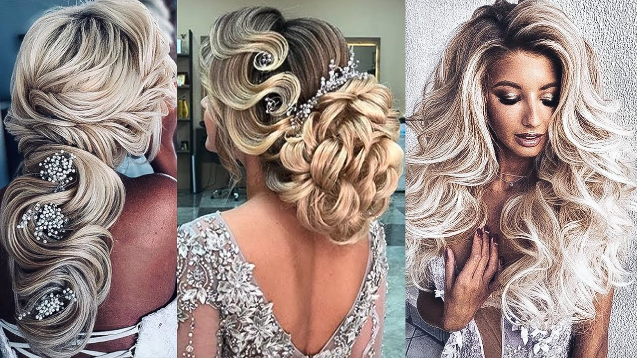 Amazing Bridal Hairstyles Tutorial | Top 10 Amazing Hair Transformations Compilation 2018 BeSt ...
