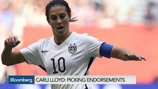 Can Carli Lloyd Cash-In on World Cup Stardom?