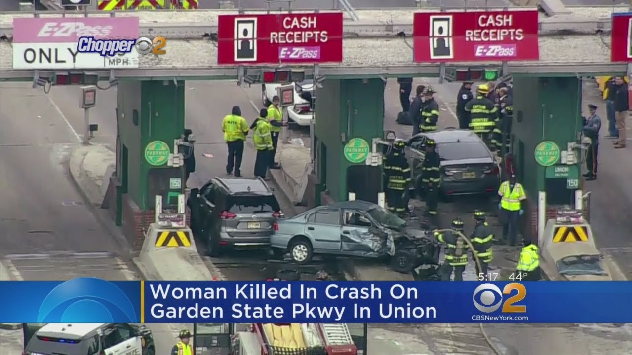 Woman Killed In Crash On Gsp Youtube