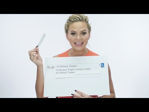 Chrissy Teigen Answers Your Most Googled Questions