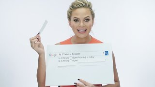 Chrissy Teigen Answers Your Most Googled Questions | SELF