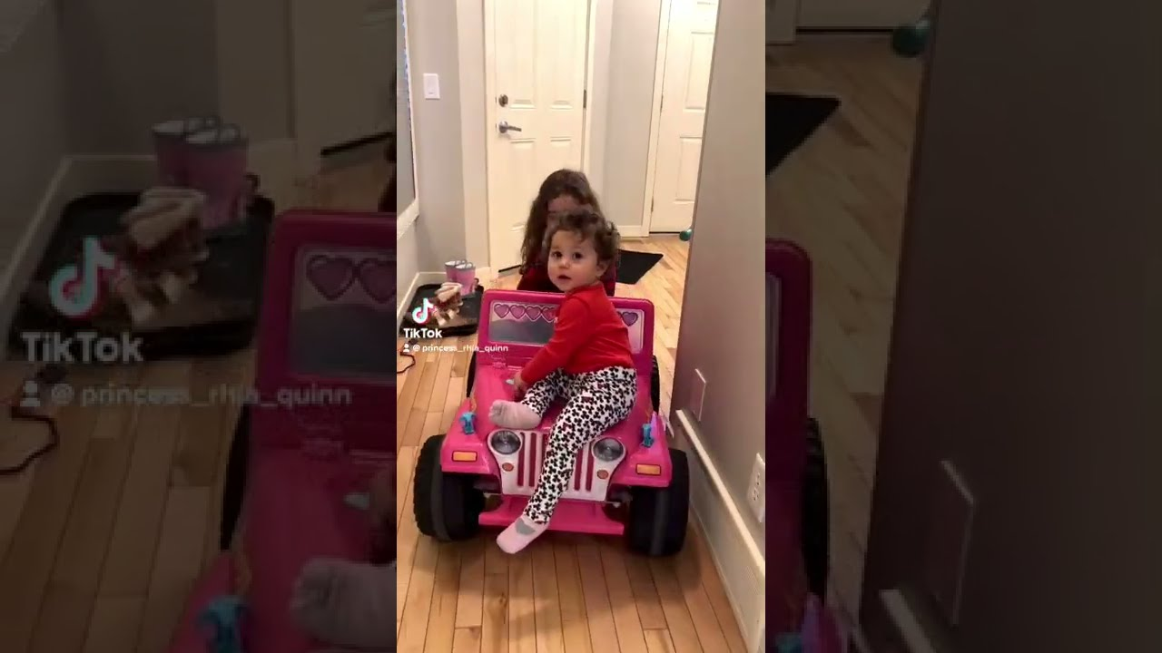 Baby ride toy car goes wrong #shorts