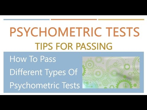 How to Pass Psychometric Tests - Top Tips on How to Pass Psychometric Assessments