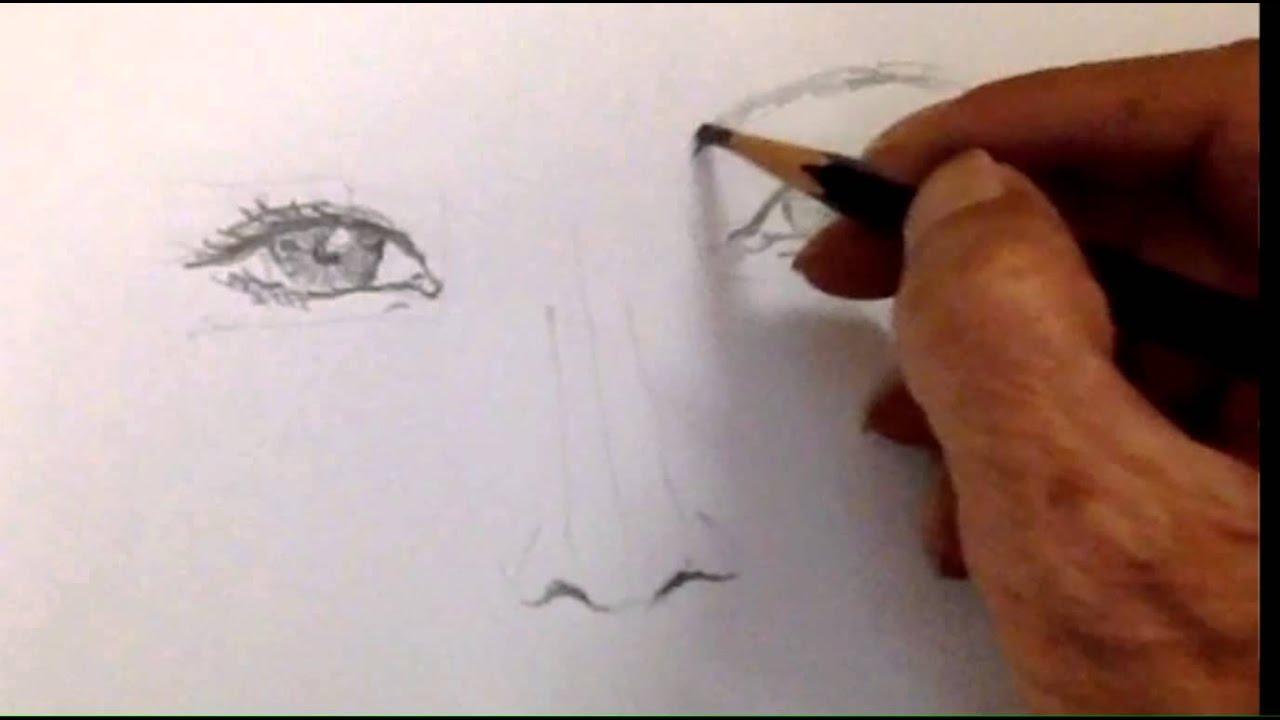 Vẽ Chân dung với Viết Chì