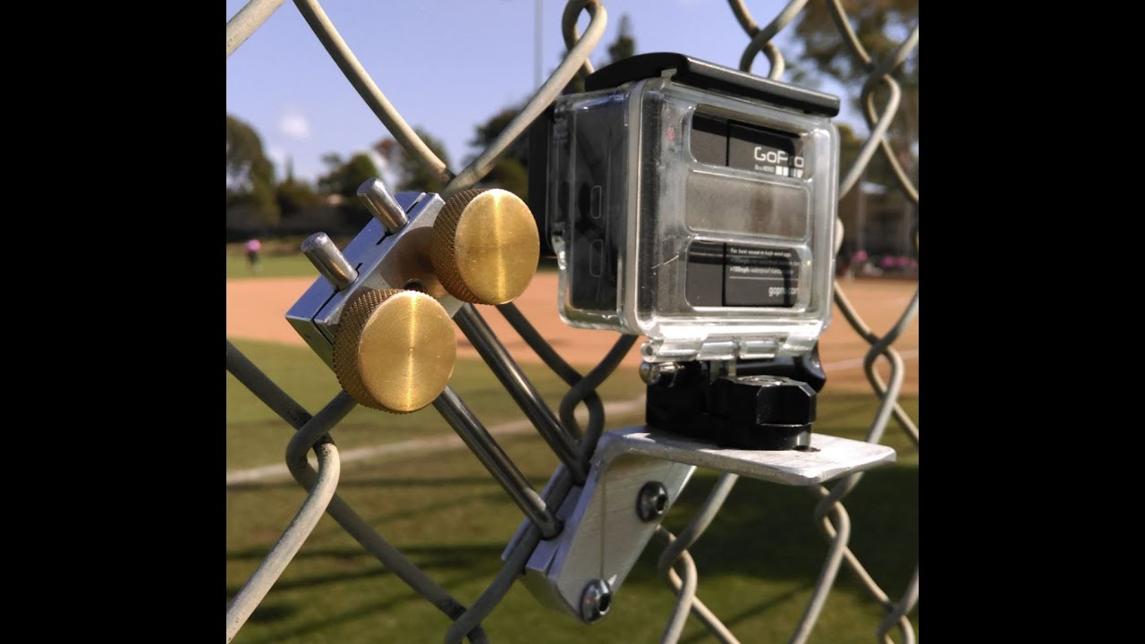 Fence Clip Excellent Video Through A Chain Link Fence