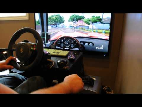 Test Drive Unlimited 2 - Gameplay w/Fanatec GT2 wheel