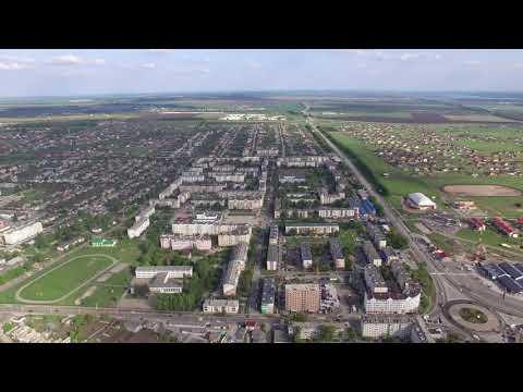 4К аэросъёмка Белгород. Посёлок Разумное.