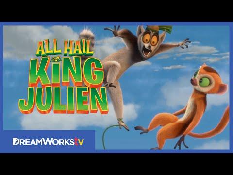 Sky Diving Lemurs | ALL HAIL KING JULIEN