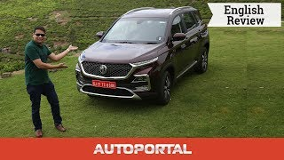 MG Hector - Test Drive Review - Autoportal