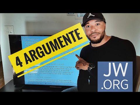 Dagegen hat KEIN ZEUGE JEHOVAS eine Chance!4 Argumente!!!!