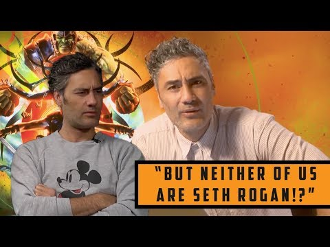 Taika Waititi being a SARCASTIC GOD for 10 minutes!