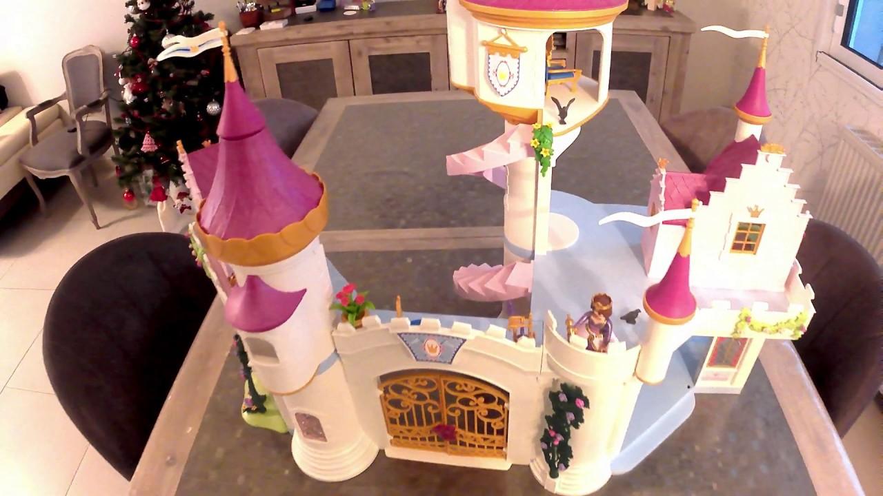 02 playmobil -Princess- grand château de princesse. - YouTube