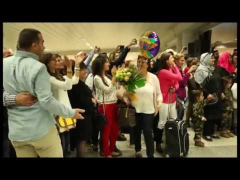 Bruno Mars Marry You Flash Mob Proposal Jacob and Eliane   Beirut Rafic Hariri International Airport