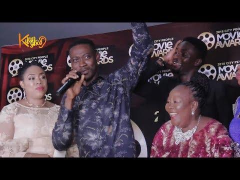 Damola Olatunji Ayo Adesanya Adedimeji Lateef  : Acceptance Speech |2018 City People Movie Awards