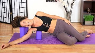 Beginners 20 Minute Yin Yoga for Stress Relief & Relaxation