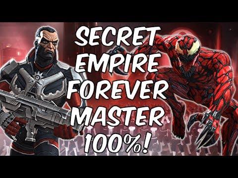Secret Empire Forever Master Mode 100% - Marvel Contest Of Champions