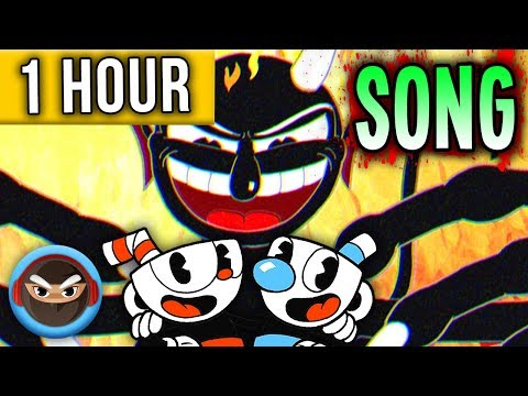 "1 HOUR  ► CUPHEAD SONG ""The Devil's Due"" By TryHardNinja And NotARobot"