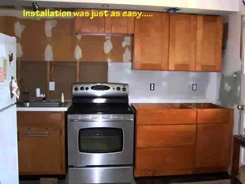 Remodeling Our Kitchen With Autumn Shaker RTA Cabinets From  RTACabinetStore.com   YouTube