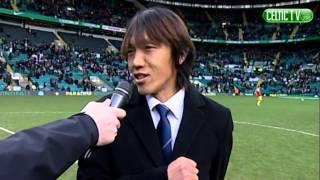 Celtic FC - Shunsuke Nakamura returns to Celtic Park