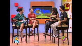 "Tanya Stephens and Sanjay Smile Jamaica Performance TVJ ""Corners Of My Mind"""