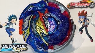 BEYBLADE BURST FINALLY BETTER THAN METAL FIGHT?! Cho-Z Valkyrie .Z.Ev VS Big Bang Pegasus F:D