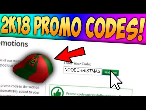 (*NEW*) ALL WORKING ROBLOX PROMO CODES (DECEMBER 2018!)