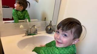 Johnny Johnny Nursery Rhymes Song Pretend Play Wash Hands