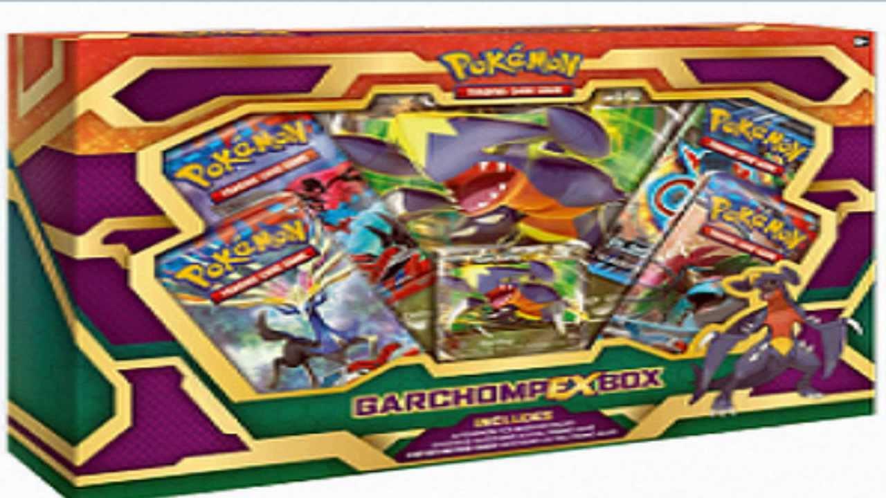 Pokemon Tcg News New Garchomp Ex Box Coming In April Youtube