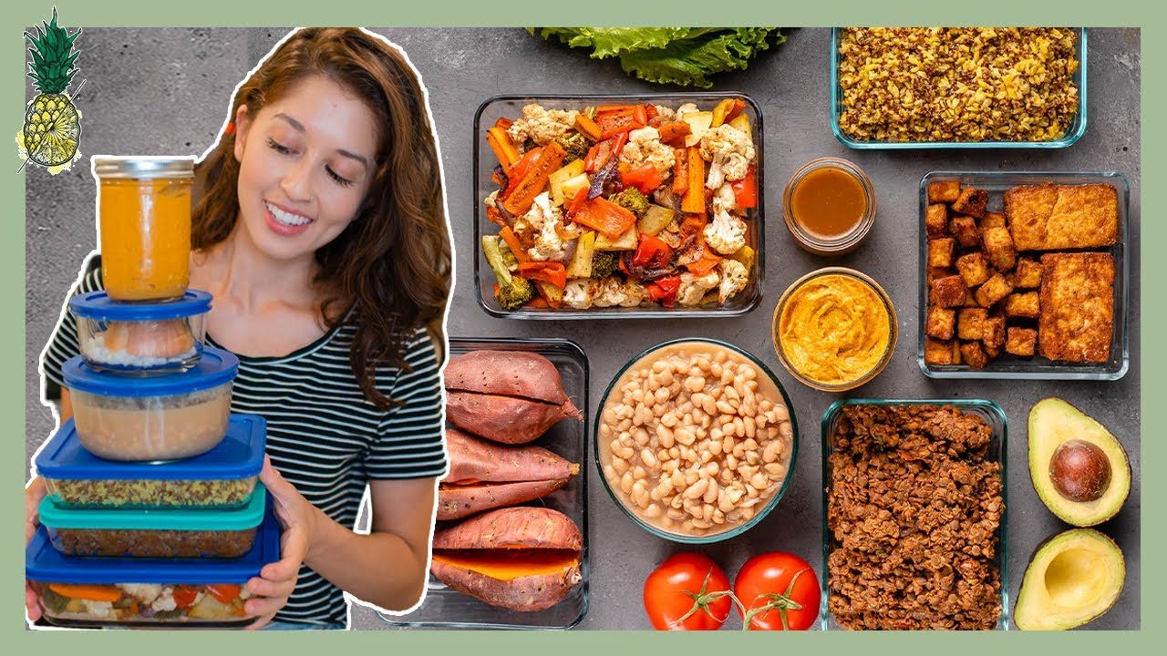 Budget-Friendly Meal Prep for Beginners   8-Ingredients