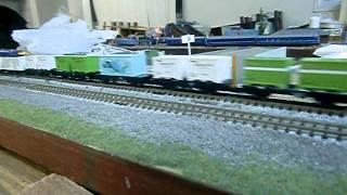 Nゲージ ED75+2軸貨車29両