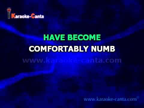 Pink Floyd - Comfortably Numb  By karaoke-canta