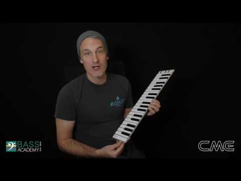 Low latency of CME Xkey Air MIDI keyboard -- Experienced by musicians