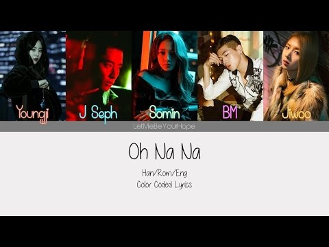 K.A.R.D - Oh Na Na [Color Coded Lyrics/Han|Rom|Eng]
