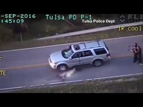'That looks like a bad dude' – Tulsa PD helicopter pilot on Terence Crutcher