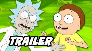 Rick and Morty Season 4 Teaser - New Episodes Explained by Justin Roiland